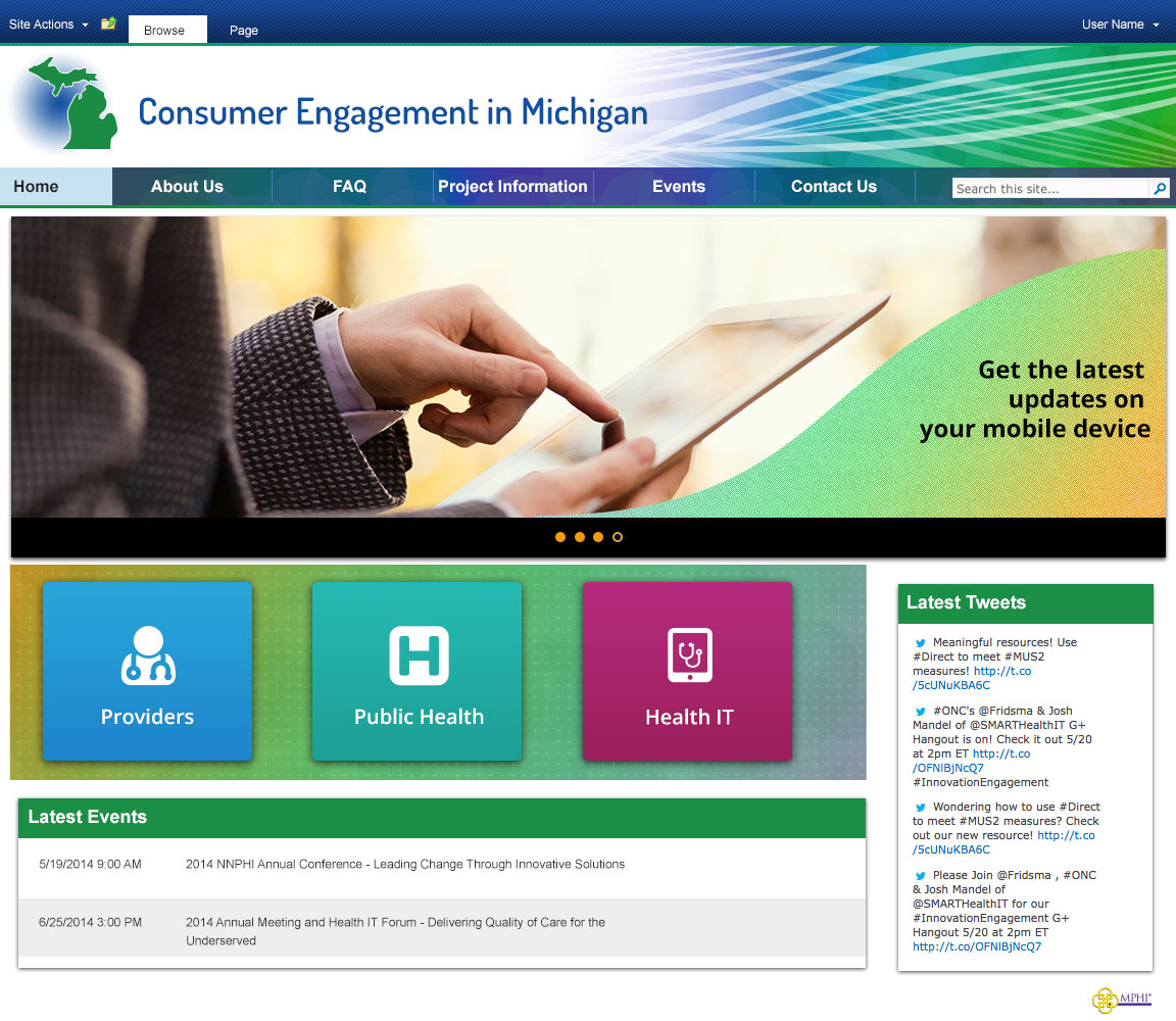 2014 Consumer Engagement SharePoint
